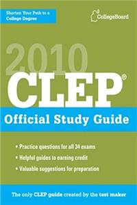 CLEP Official Study Guide 2010