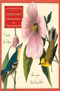 Audubon Warblers Sticky Notes