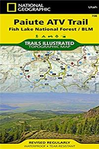 Paiute ATV Trail [Fish Lake National Forest, BLM] (National Geographic Trails Illustrated Map)